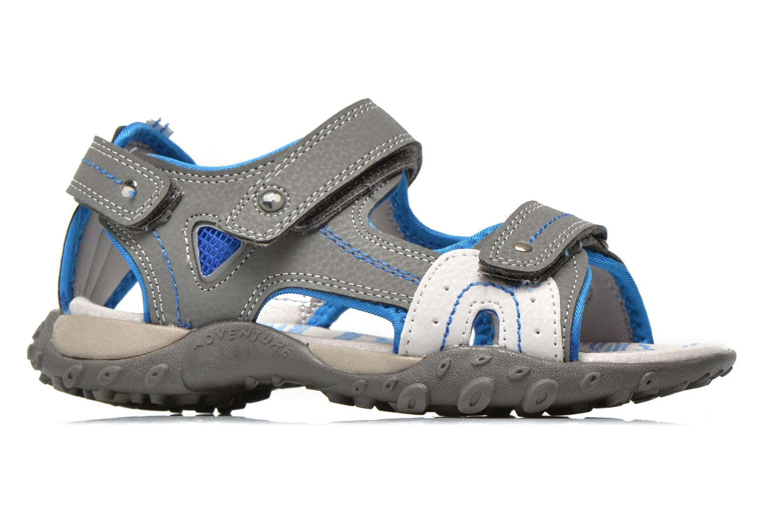 Sandals Bopy Turgico Grey back view
