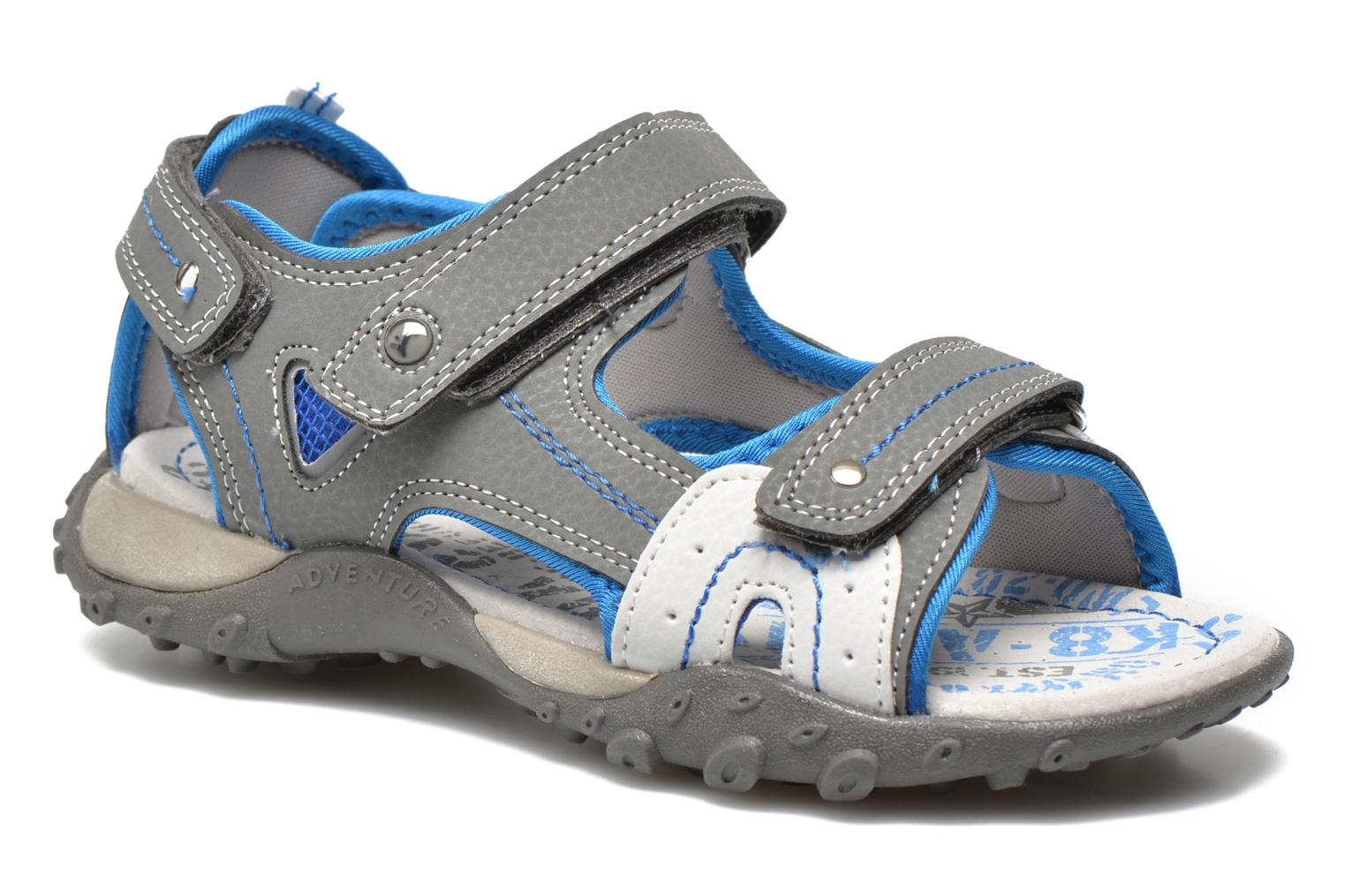 Sandals Bopy Turgico Grey detailed view/ Pair view