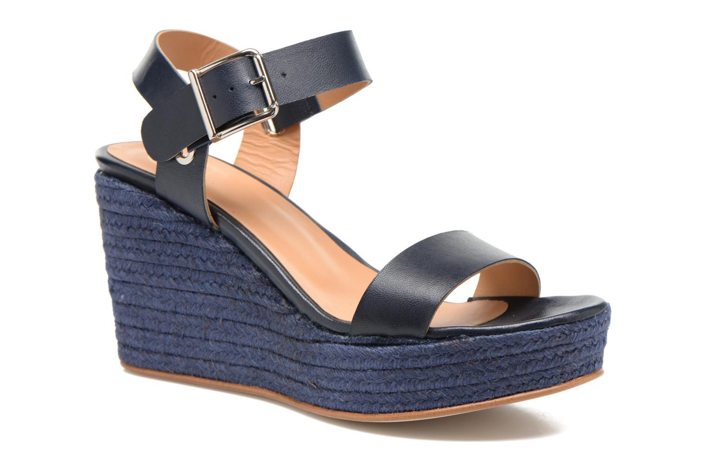Sandalen Made by SARENZA Menthe Hello #18 blau ansicht von rechts