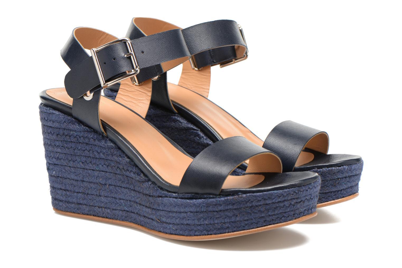 Sandalen Made by SARENZA Menthe Hello #18 blau ansicht von hinten