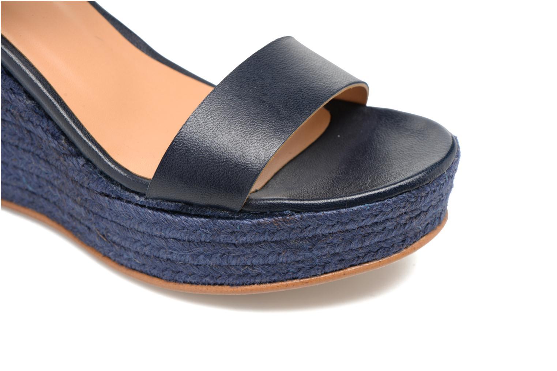 Sandalen Made by SARENZA Menthe Hello #18 blau ansicht von links