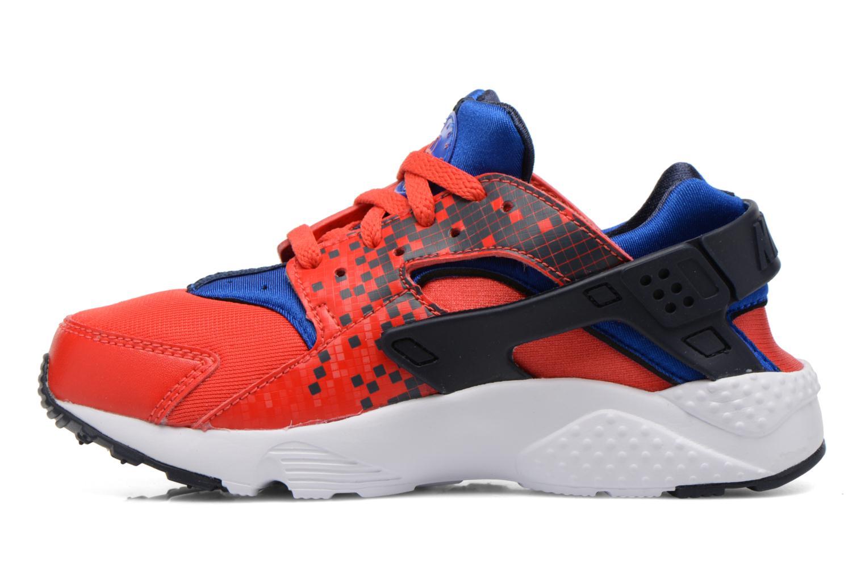 Deportivas Nike Nike Huarache Run Print (Ps) Rojo vista de frente