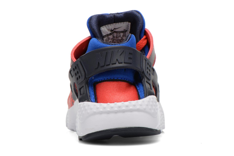 Deportivas Nike Nike Huarache Run Print (Ps) Rojo vista lateral derecha