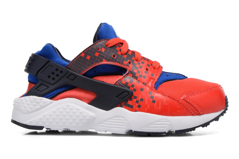 Sneaker Nike Nike Huarache Run Print (Ps) rot ansicht von hinten