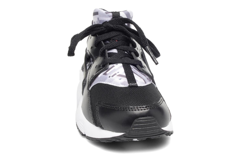 Deportivas Nike Nike Huarache Run Print (Ps) Negro vista del modelo