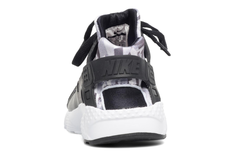 Deportivas Nike Nike Huarache Run Print (Ps) Negro vista lateral derecha