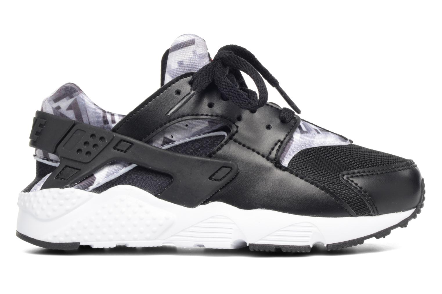 Nike Huarache Run Print (Ps) Black/Gym Red-Black-White