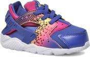 Dp Nght/Dp Nght-Fr Pnk-Brght C Nike Nike Huarache Run Print (Td) (Violet)