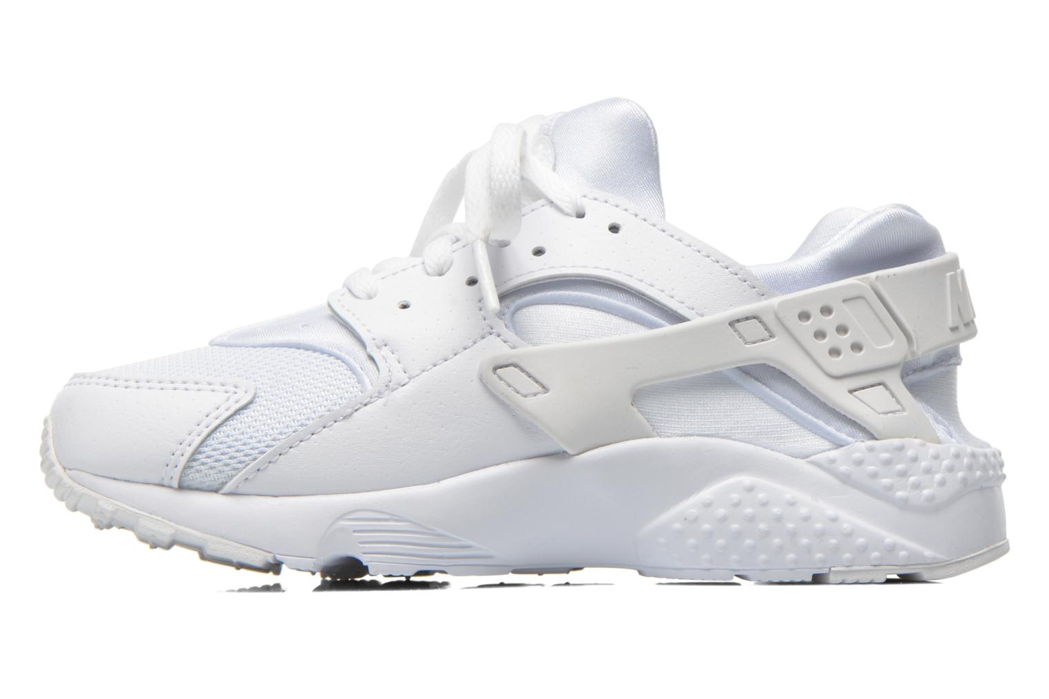 Baskets Nike Nike Huarache Run (Ps) Blanc vue face