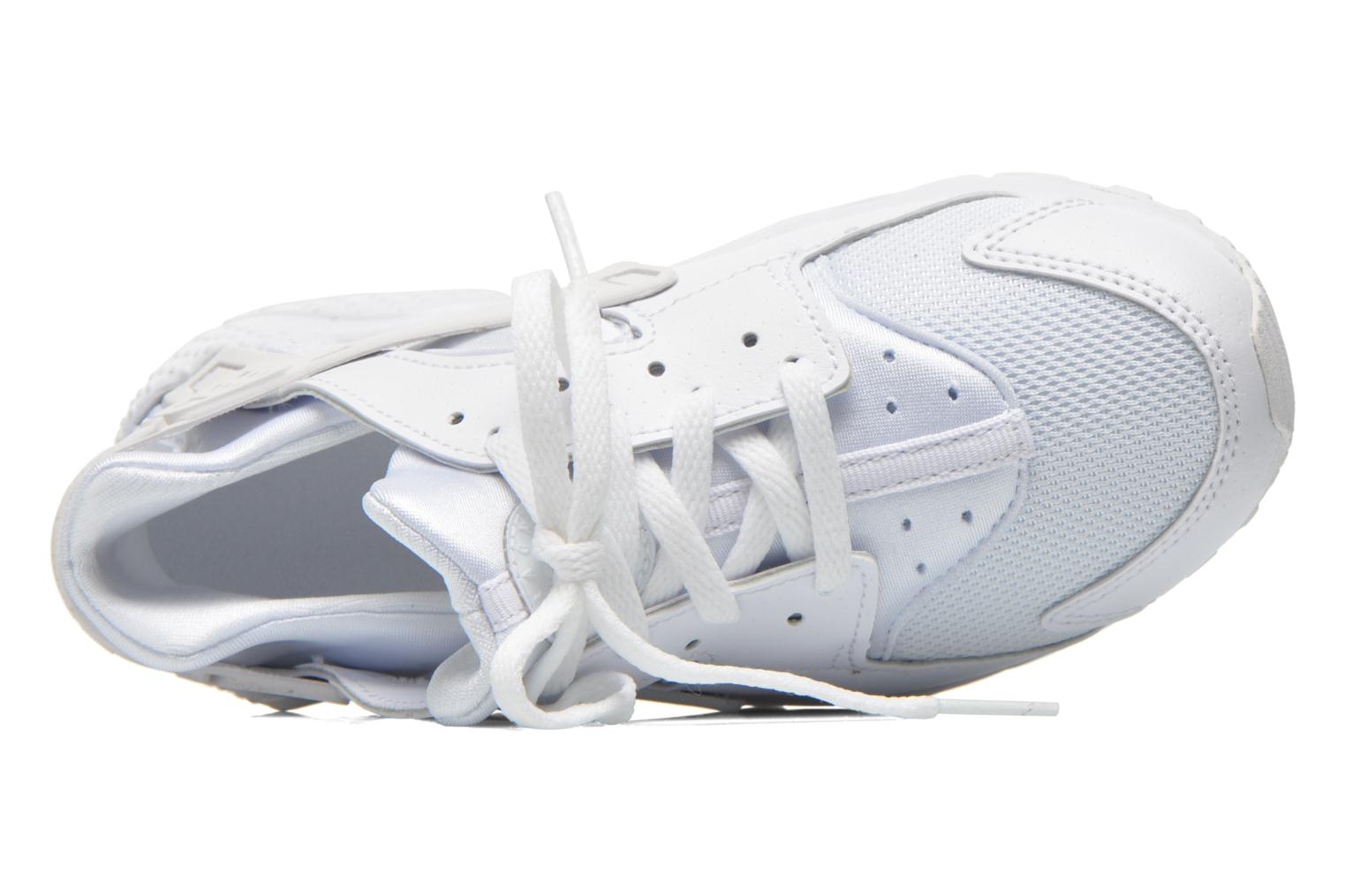 Baskets Nike Nike Huarache Run (Ps) Blanc vue gauche