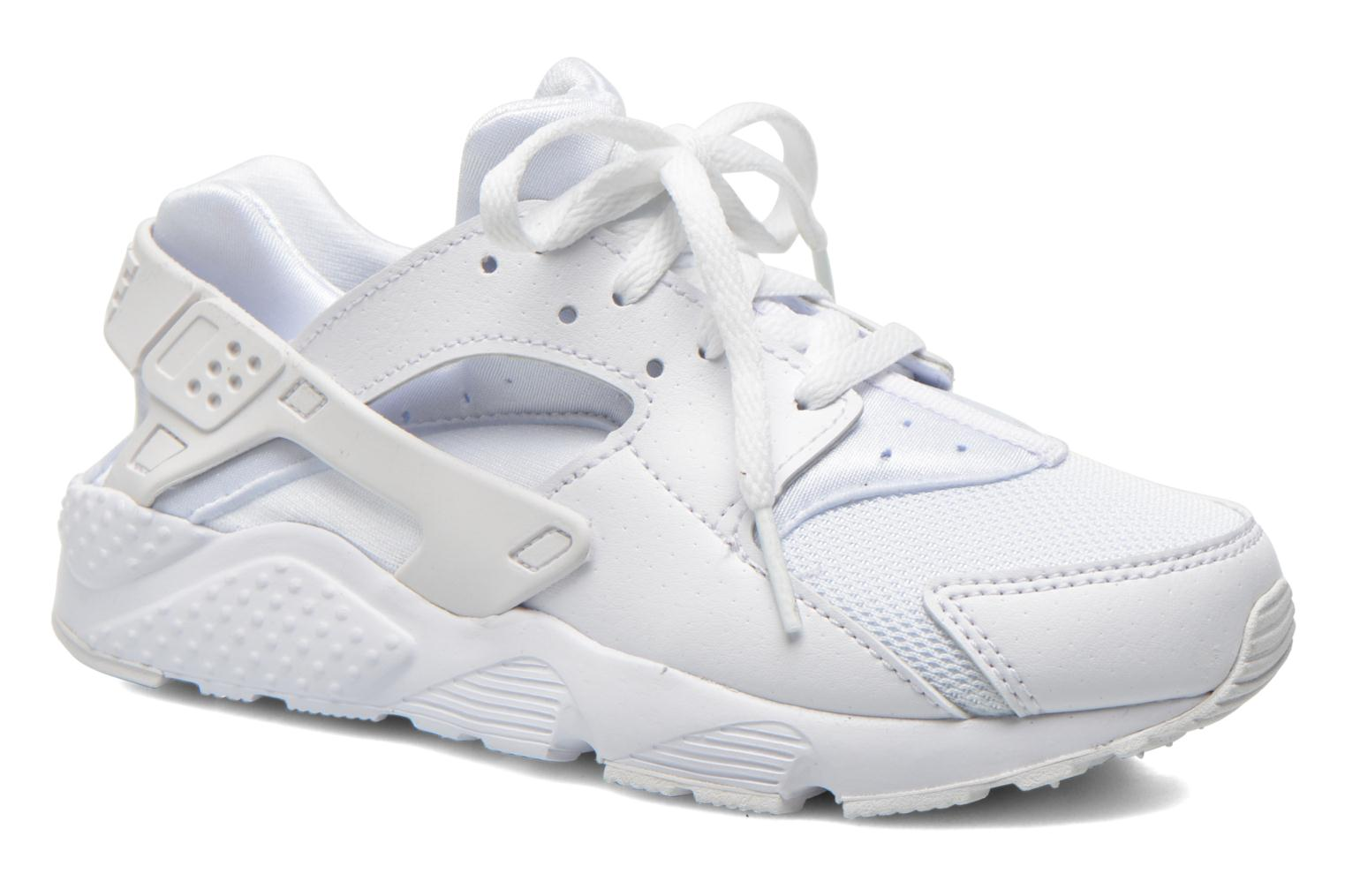 Baskets Nike Nike Huarache Run (Ps) Blanc vue détail/paire