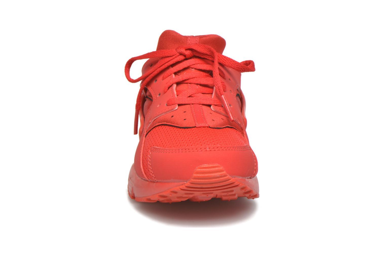 Sneaker Nike Nike Huarache Run (Ps) rot schuhe getragen
