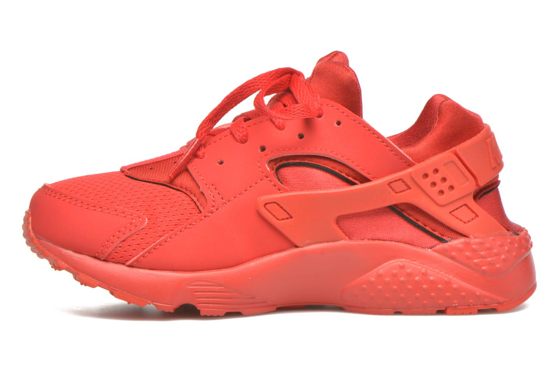 Sneaker Nike Nike Huarache Run (Ps) rot ansicht von vorne