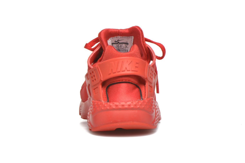 Sneaker Nike Nike Huarache Run (Ps) rot ansicht von rechts