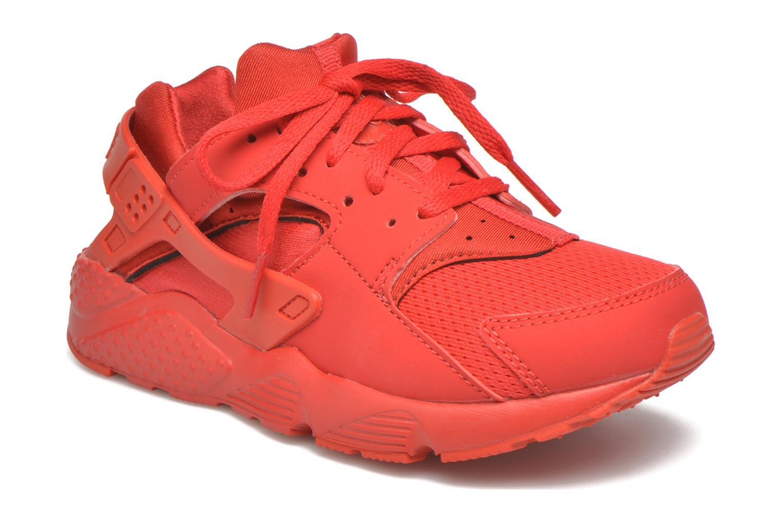 Sneaker Nike Nike Huarache Run (Ps) rot detaillierte ansicht/modell