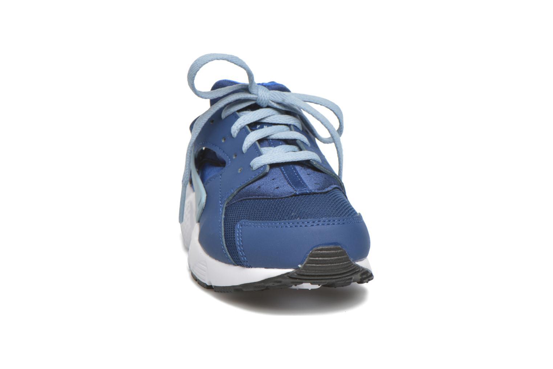 Sneaker Nike Nike Huarache Run (Ps) blau schuhe getragen