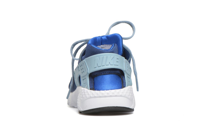 Sneaker Nike Nike Huarache Run (Ps) blau ansicht von rechts