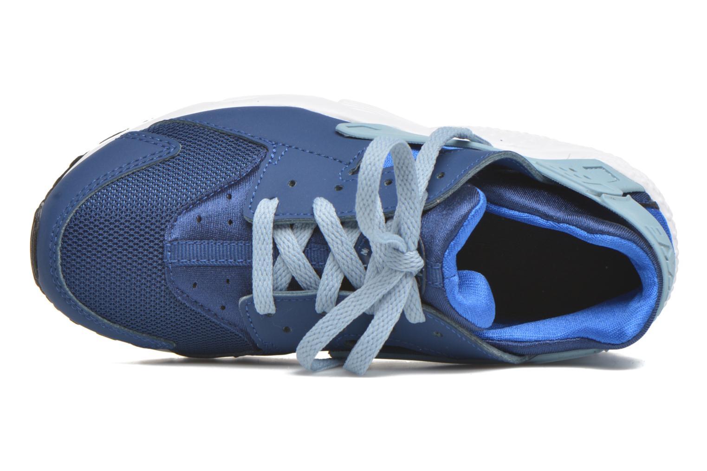Sneaker Nike Nike Huarache Run (Ps) blau ansicht von links