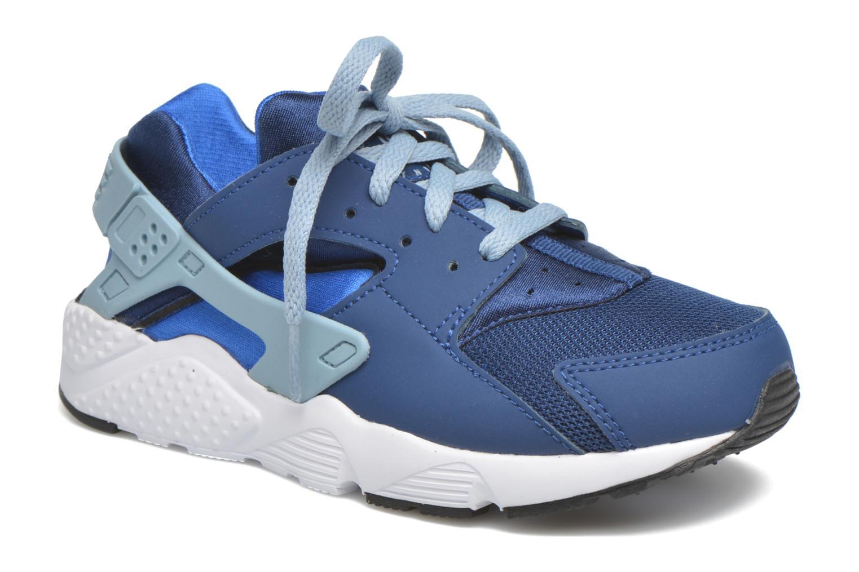 Sneaker Nike Nike Huarache Run (Ps) blau detaillierte ansicht/modell