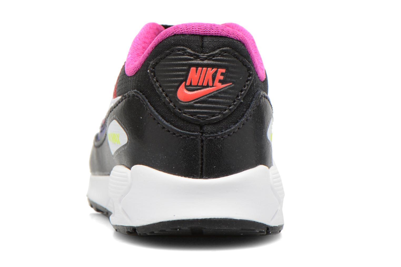 Baskets Nike Air Max 90 Prem Mesh (Td) Noir vue droite
