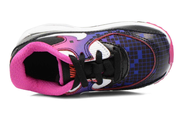 Baskets Nike Air Max 90 Prem Mesh (Td) Noir vue gauche