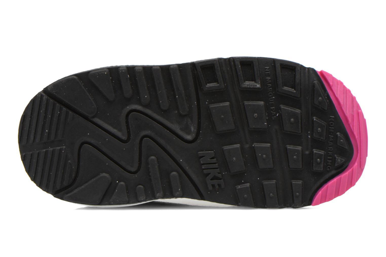 Baskets Nike Air Max 90 Prem Mesh (Td) Noir vue haut