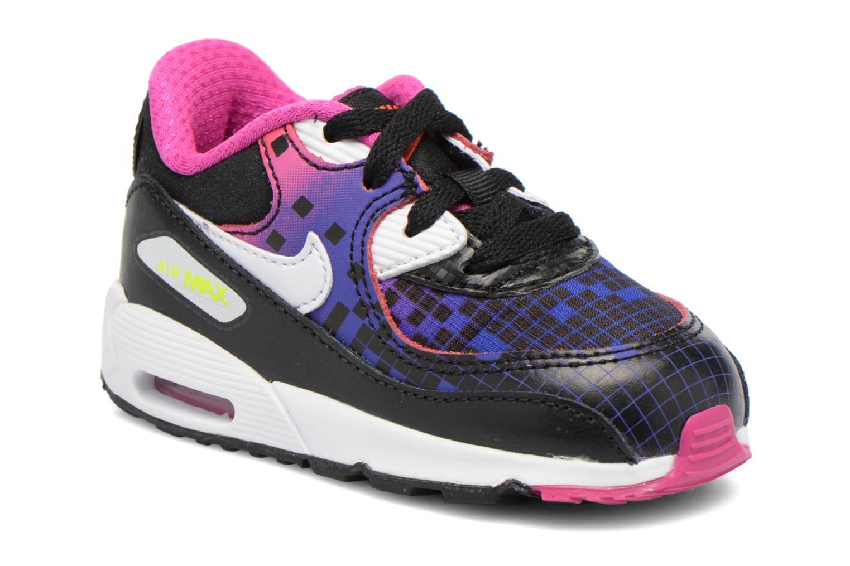 Baskets Nike Air Max 90 Prem Mesh (Td) Noir vue détail/paire