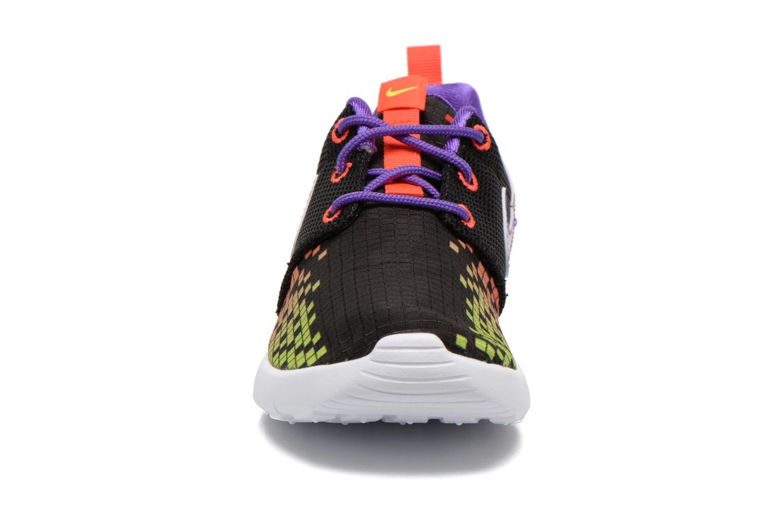 Baskets Nike Roshe One Print (Ps) Noir vue portées chaussures