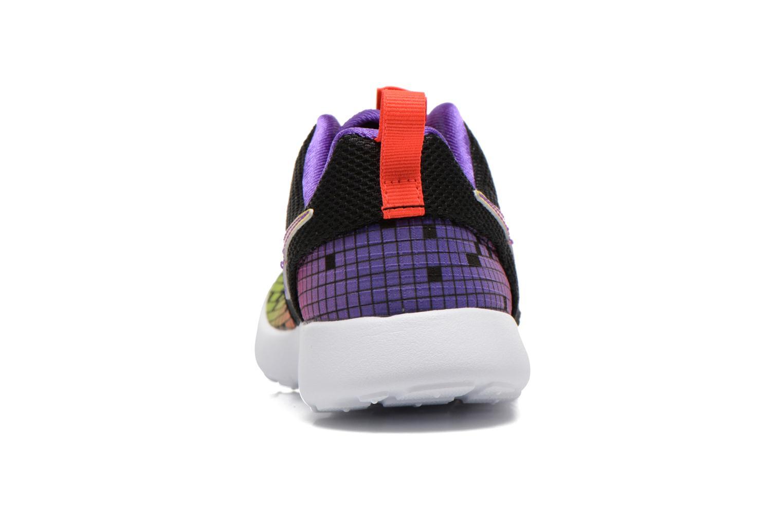 Baskets Nike Roshe One Print (Ps) Noir vue droite