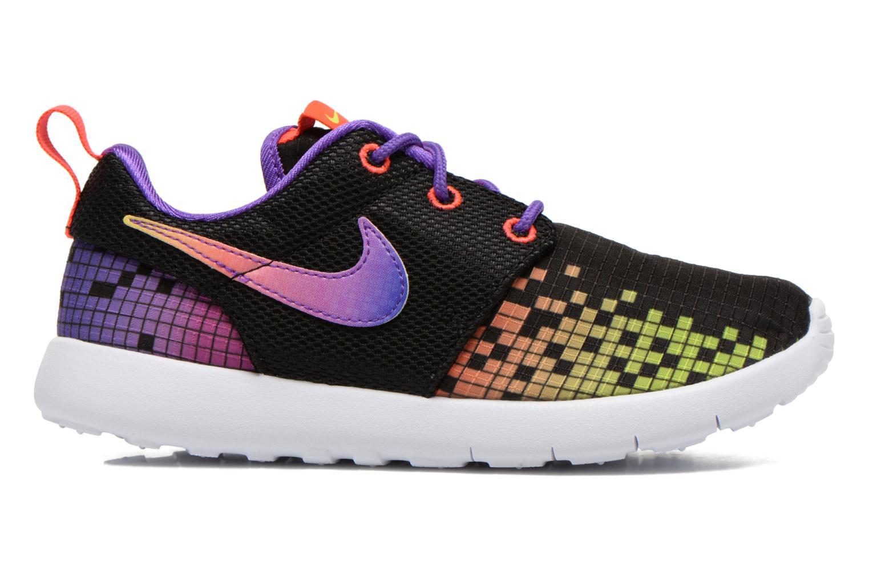 Sneakers Nike Roshe One Print (Ps) Zwart achterkant