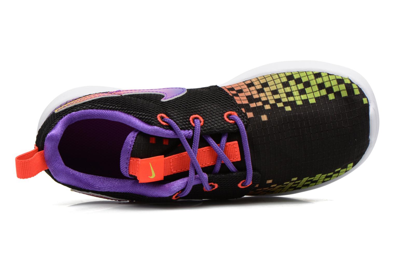 Sneakers Nike Roshe One Print (Ps) Zwart links