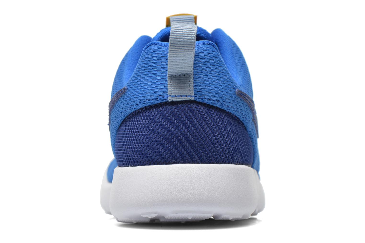 Trainers Nike Roshe One (Ps) Blue view from the right