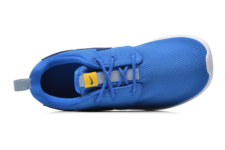 Baskets Nike Roshe One (Ps) Bleu vue gauche