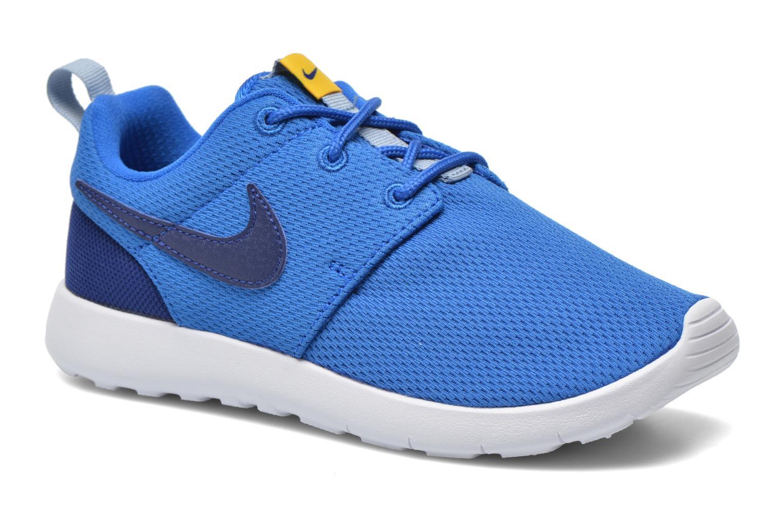 Baskets Nike Roshe One (Ps) Bleu vue détail/paire
