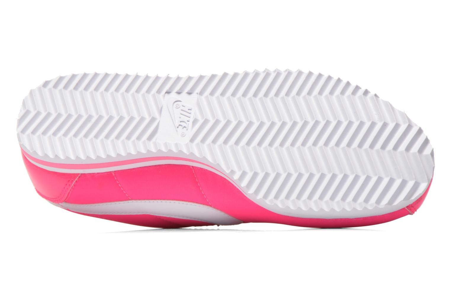 Trainers Nike Cortez Nylon (Gs) Pink view from above