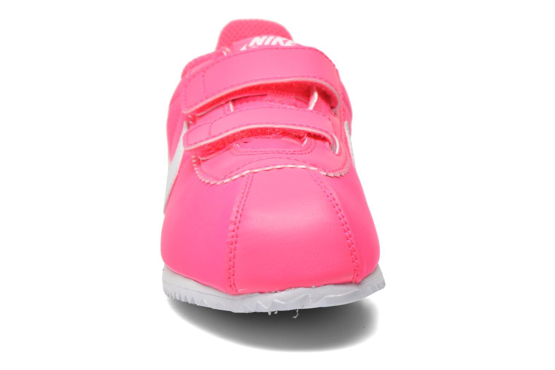 Deportivas Nike Cortez Nylon (Psv) Rosa vista del modelo