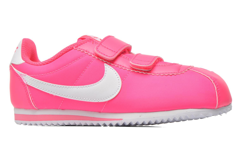 Deportivas Nike Cortez Nylon (Psv) Rosa vistra trasera