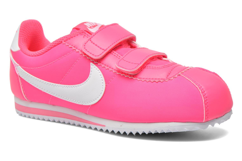 Deportivas Nike Cortez Nylon (Psv) Rosa vista de detalle / par