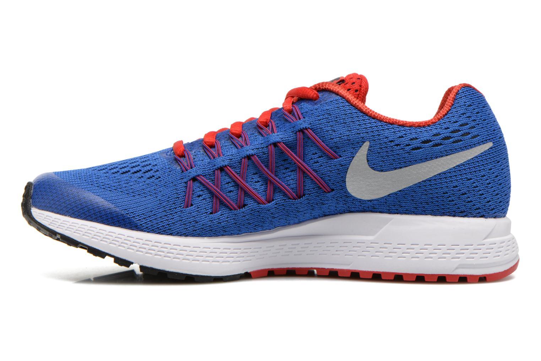 Sneaker Nike Zoom Pegasus 32 (Gs) blau ansicht von vorne