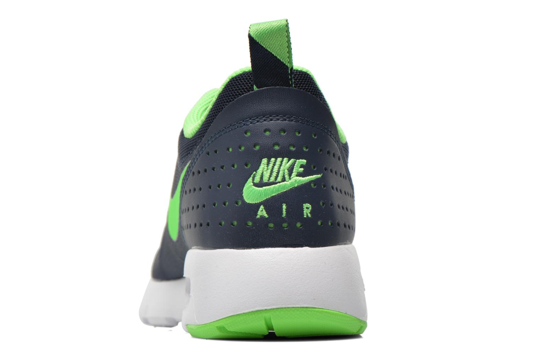 Air Max Tavas (Gs) Obsidian/Voltage Green-White