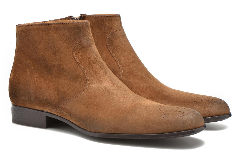 Bottines et boots Jean-Baptiste Rautureau Rija Boots perfo Marron vue 3/4