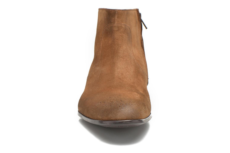 Bottines et boots Jean-Baptiste Rautureau Rija Boots perfo Marron vue portées chaussures