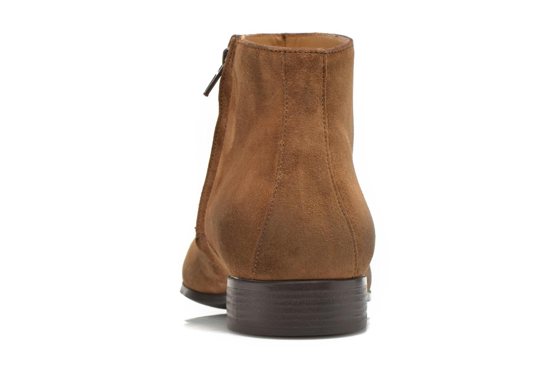 Boots en enkellaarsjes Jean-Baptiste Rautureau Rija Boots perfo Bruin rechts