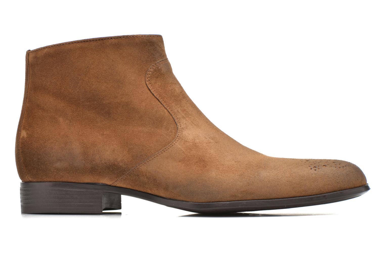 Boots en enkellaarsjes Jean-Baptiste Rautureau Rija Boots perfo Bruin achterkant