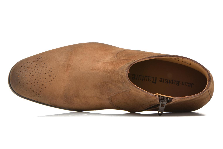 Boots en enkellaarsjes Jean-Baptiste Rautureau Rija Boots perfo Bruin links