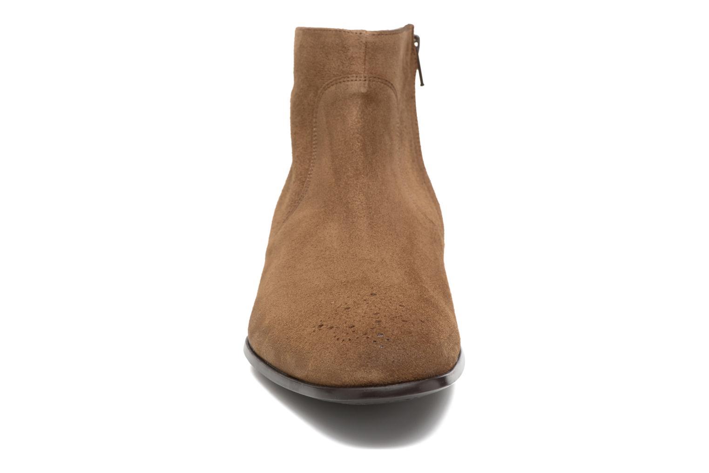 Stiefeletten & Boots Jean-Baptiste Rautureau Rija Boots perfo braun schuhe getragen