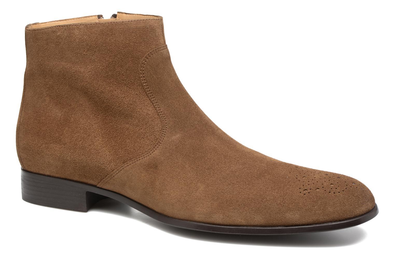 Boots en enkellaarsjes Jean-Baptiste Rautureau Rija Boots perfo Bruin detail