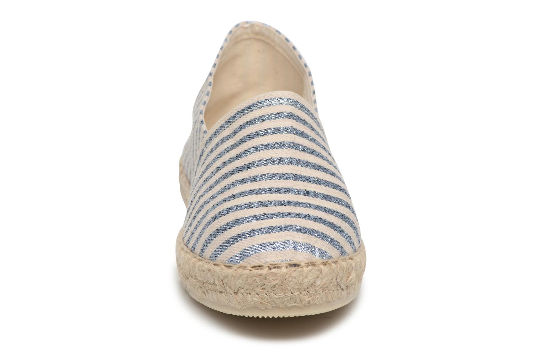 Espadrilles La maison de l'espadrille Lady Sabline E Argent vue portées chaussures