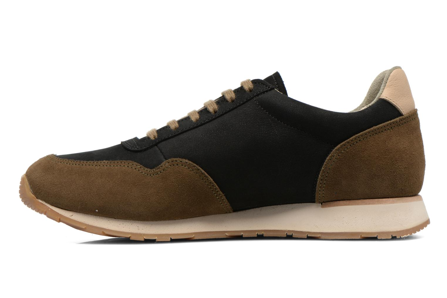Trainers El Naturalista Walky ND90 Black front view