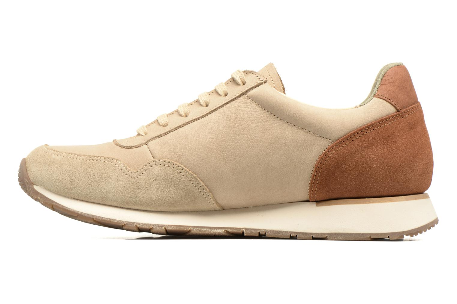 Trainers El Naturalista Walky ND90 Beige front view